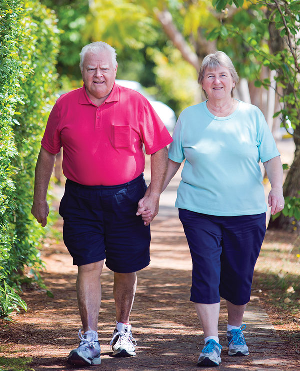 Study States That , Little way of Lifestyle changes in stout seniors can assist with boosting vascular health