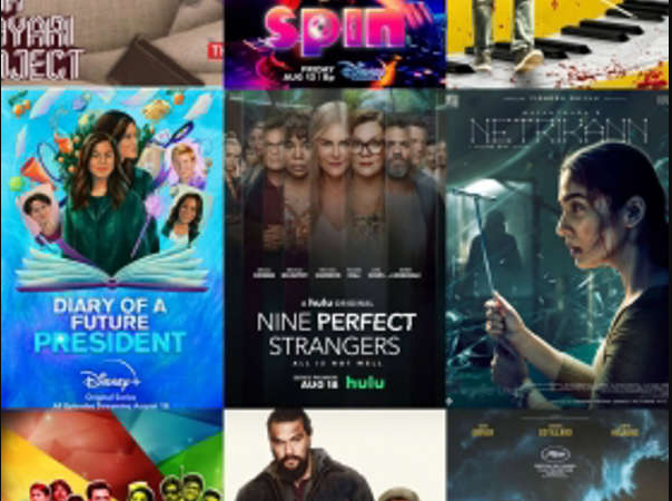 Here's a look at highlight films, shows, and series (August 15 – August 21)