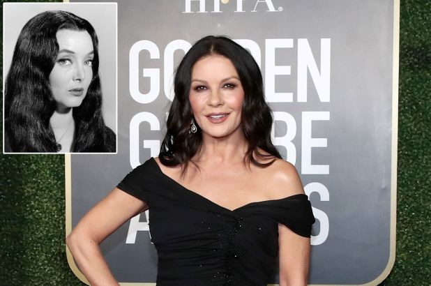 Catherine Zeta-Jones will play Morticia in the impending Wednesday Addams series at Netflix