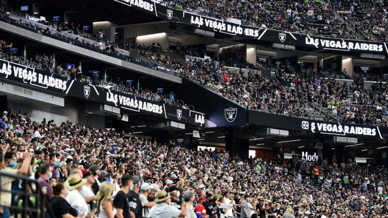 Raiders  expecting fans to be inoculated in first for NFL team